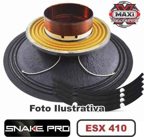 Kit Reparo Snake Pro Esx 410 10 8 Ohms 400w Original 800w