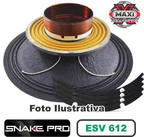 Kit Reparo Snake Pro Esv 612 12 8 Ohms 300w Original 600w