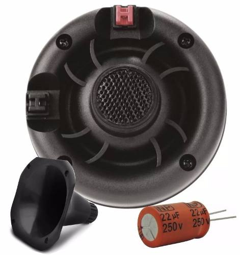 Kit Com 2 Driver E 1 Supertweeter Triton Light 100w Rms Cada