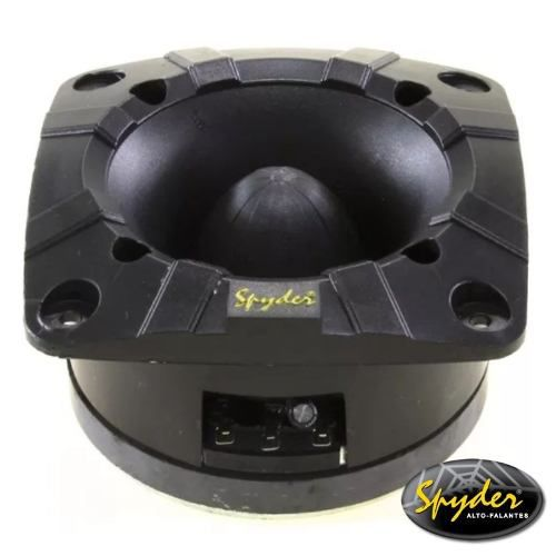 Kit Com 2 Super Tweeter E 4 Driver Spyder 200 Pro100w Rms