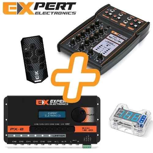 Kit Expert Processador Px2 Com Mesa Mx1 Controle Voltimetro