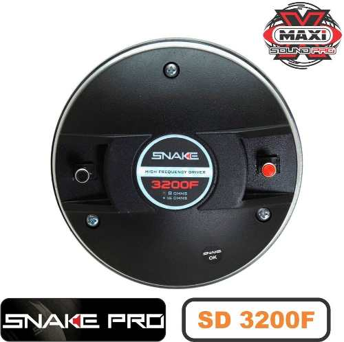 Driver Snake Pro Fenolico Sd 3200f Profissional 200w 8 Ohms