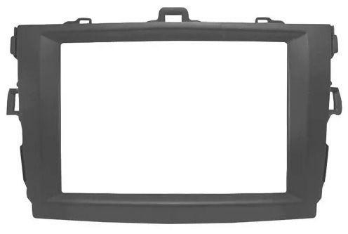 Moldura Dvd Multimidia 2 Din Cinza Corolla 2009 A 2014