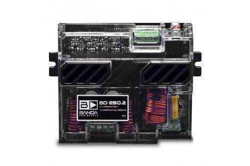 Módulo Amplificador Banda Audioparts Bd 250.2 250w 2 Canais
