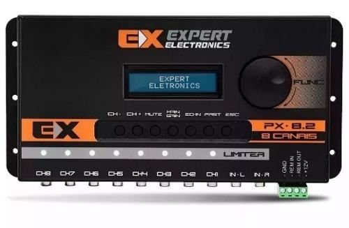 Expert Crossover Equalizador E Processador Digital Px8.2 Top
