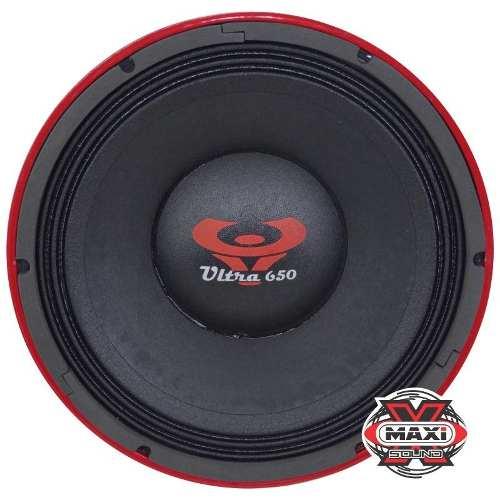 Alto Falante Woofer Ultravox Ultra 650 Rms 12 Pol 4 Ohms
