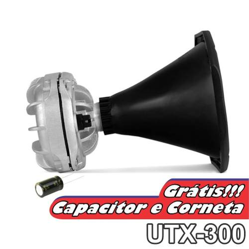 Kit Com Driver Utx300 E Tweeter Utx400 Ultravox Gratis Bocal