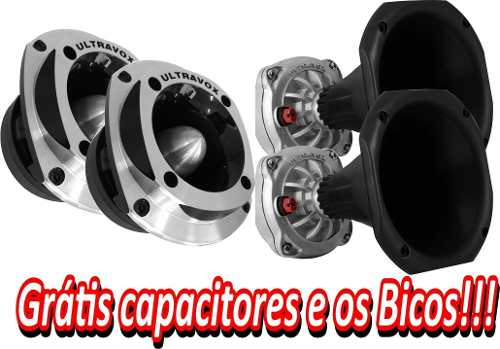 - Par Driver Utx300 + Par Tweeter Utx400 Ultravox Gratis Bico