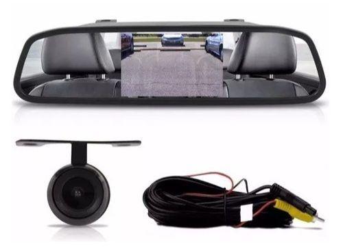 - Espelho Retrovisor Interno Tela E-tech 4.3 Com Camera De Ré