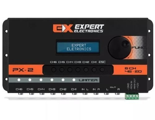 Expert Crossover Equalizador E Processador Digital Px2 Top
