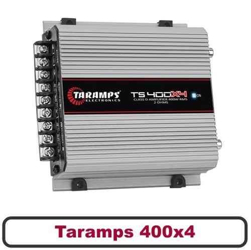Taramps Ts400x4 + Kit Pioneer De 6 Triaxial E 69 Quadriaxial