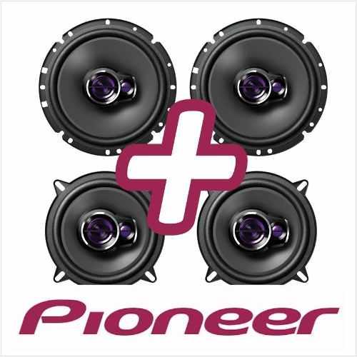 Kit Auto Falante Pioneer 2 Pares Vectra Astra 6 plegadas 200w e 5 polegadas 180w