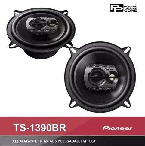 Kit Falante Pioneer 5 200w Triaxial 6x9 420w Quadriaxial