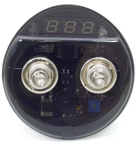 Mega Capacitor Technoise 2 Farad Ev Séries Com Voltímetro