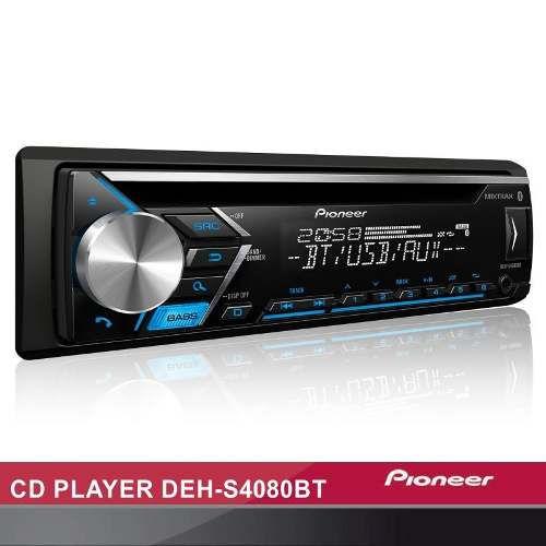 Cd Player Pioneer Deh-s4080bt Mixtrax Usb Bluetooth Controle