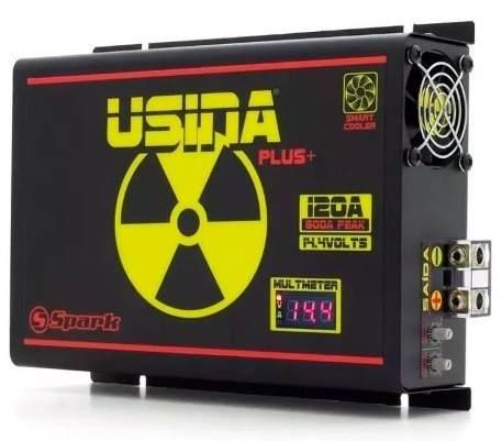 Fonte Carregador Bateria Usina Spark 120 Plus 12v Voltimetro