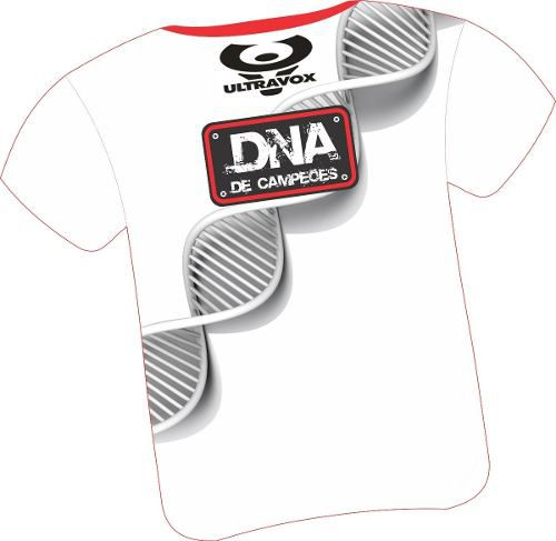 Camiseta Ultravox Dna De Campeões - Team Maxi / Ultravox