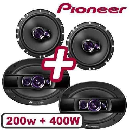 Kit Pioneer Deh-s1080ub + Falante Pioneer 6 200w E 6x9 400w