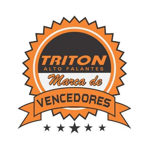 Caixa Trio Triton 400 Rms + Driver Tweeter + Modulo Taramps