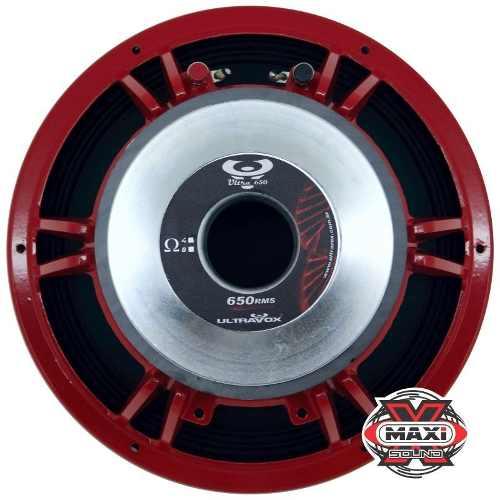 Alto Falante Woofer Ultravox Ultra 650 Rms 12 Polegadas 8 Ohms