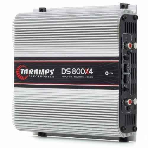 Módulo Taramps Ds800 800 W Rms 4 Canais Amplificador 2 Ohms