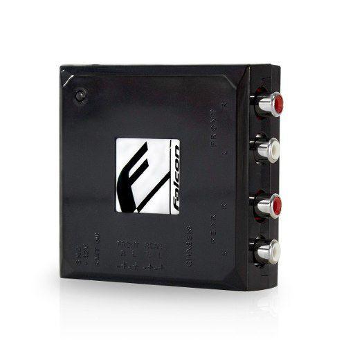 Conversor Falcon Fio Para Rca 4 Canais Fc 4 X Conversor Top