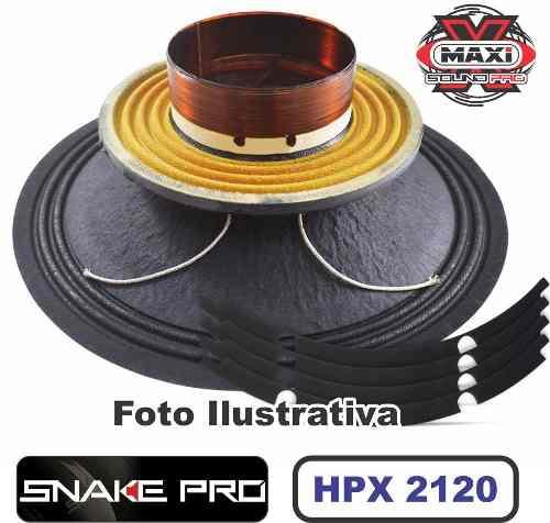 Kit Reparo Snake Pro Hpx 2120 12 8 Ohms 600w Original 1200w
