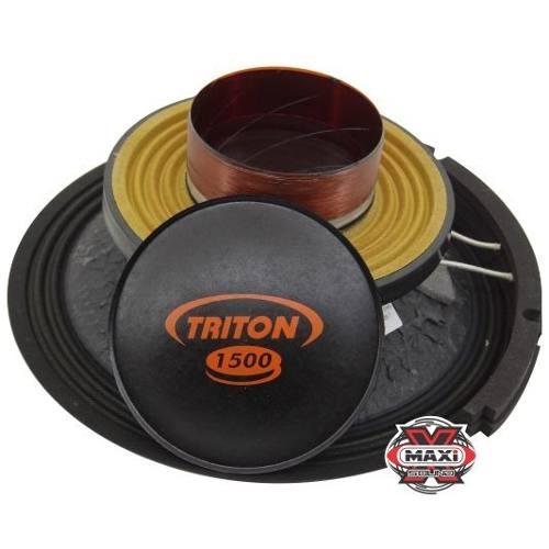 Kit Reparo Alto Falante Triton 1500 W Rms 12 4 Ohms Original