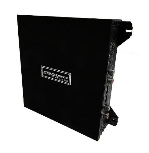 Modulo Falcon Df 900.3 Dx 3 Canais Mono E Stereo 900 Rms