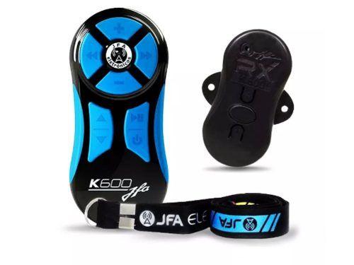 Controle Remoto Longa Distancia Jfa K600 Preto Com Azul