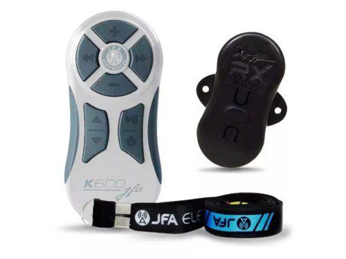 Controle Remoto Longa Distancia Jfa K600 Branco E Cinza