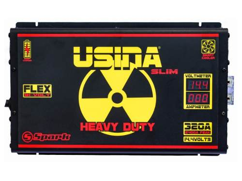 Fonte Carregador Bateria Usina Spark 320a Flex Bivolt 12v