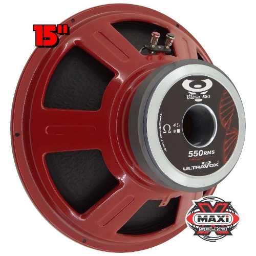 Alto Falante Woofer 15 Ultravox Ultra 550 Wrms Utx550 4 Ohms