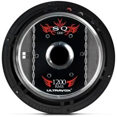 Alto Falante Woofer Ultravox Sq 1200 W 12 Sq1212 4 Ohms