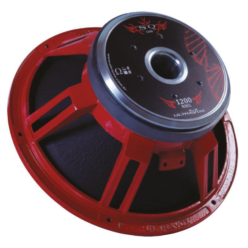 Alto Falante Woofer Ultravox Sq 1200 W 15 Sq1215 4 Ohms