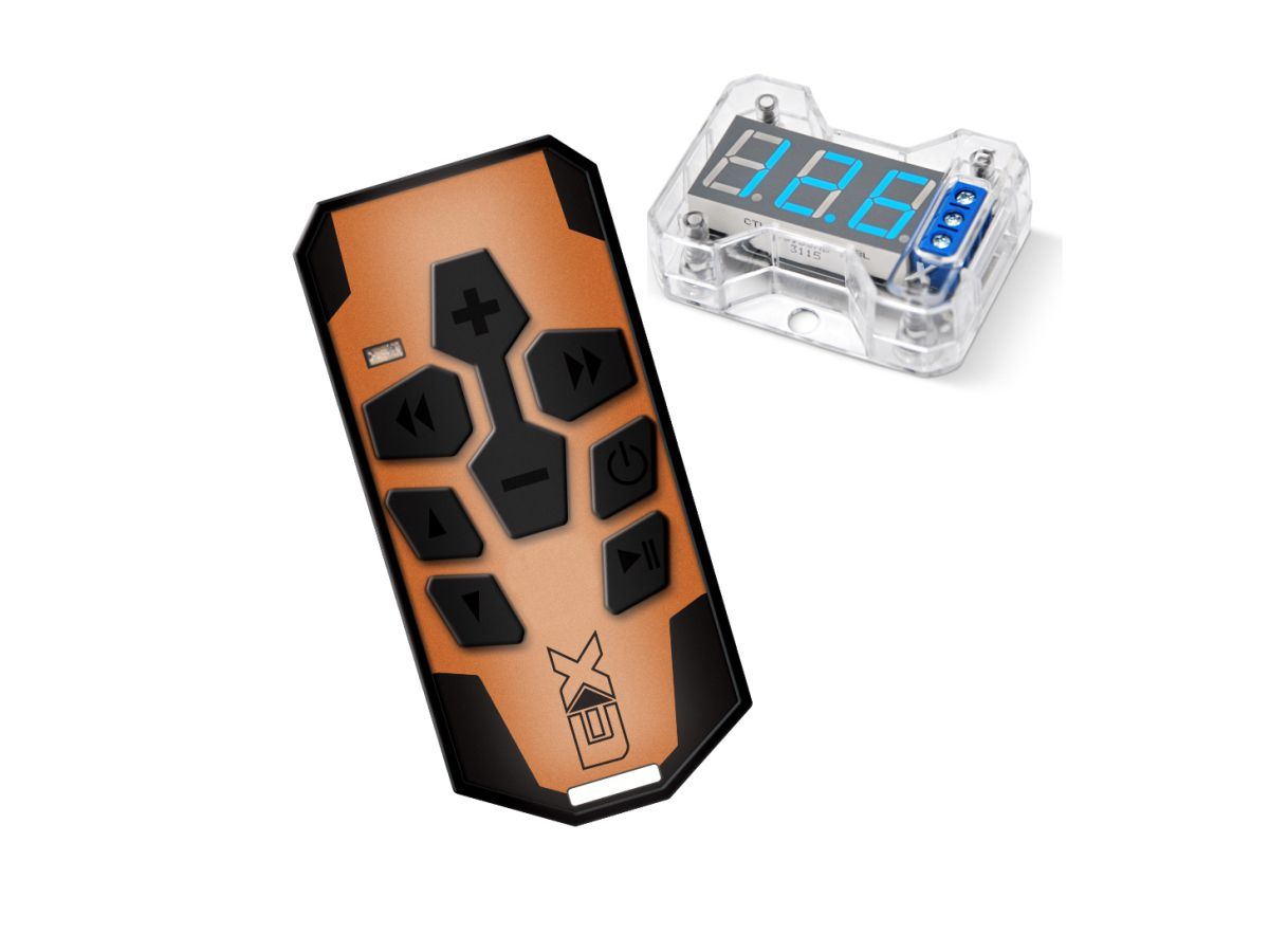 Controle Longa Distancia Laranja E Voltimetro Vex1.0 Expert