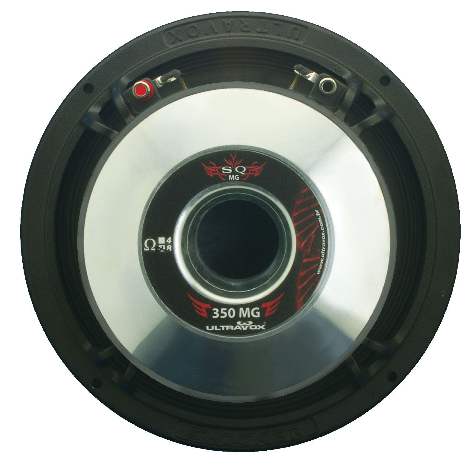 Falante Medio Woofer Ultravox Sq Mg 350w Rms 8 Pol 8 Ohms