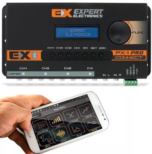 Kit Expert Px1 Connect Com Mesa Mx1 Controle Voltimetro