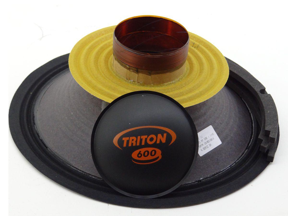 Kit Reparo Alto Falante Triton 600 W Rms 12 8 Ohms Original