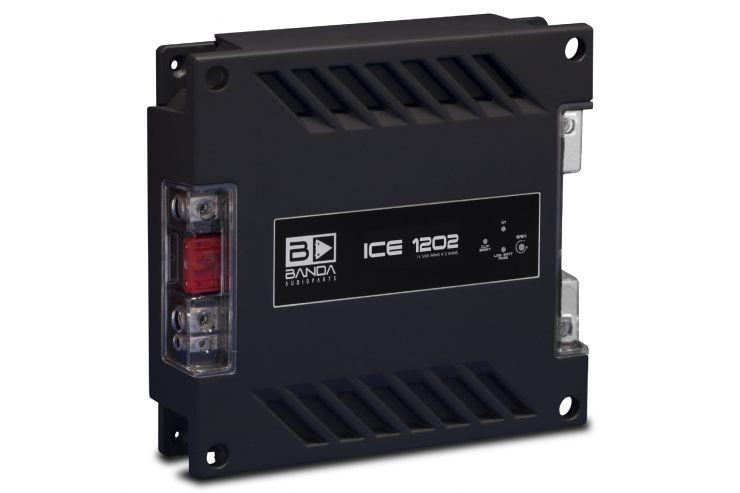 Módulo Amplificador Banda Audioparts Ice 1202 2 Ohm 1200 Rms