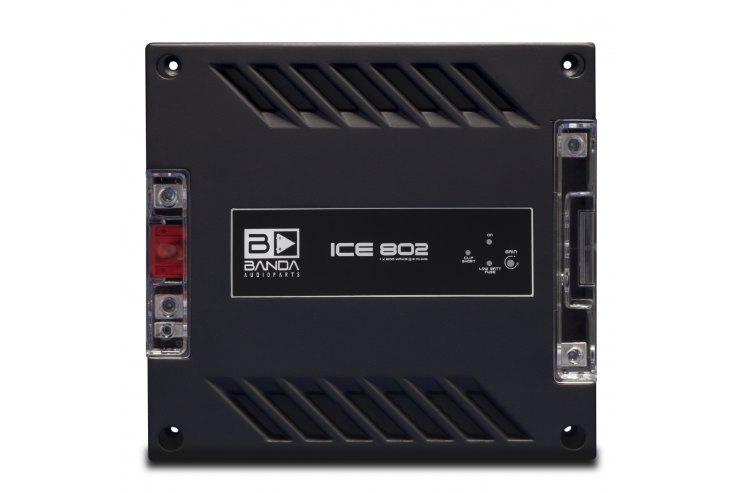 Módulo Amplificador Banda Audioparts Ice 802 2 Ohm 800 W Rms