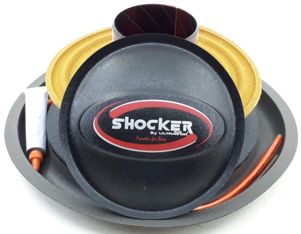 Reparo Shocker Terremoto 1200 12 4+4 Ohms Original Vermelho