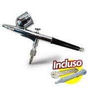 Aerógrafo Profissional Dupla Ação WIMPEL MP-1001 Bico e agulha 0.35 mm