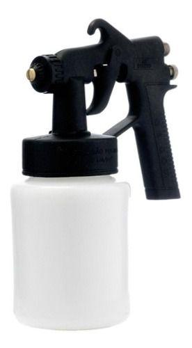 Pistola De Pintura Ar Direto Wimpel Mp22+mangueira 5 Metros