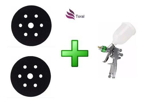 Pistola De Pintura Wimpel Mp-105 +2 Interface Hookit Wimpel