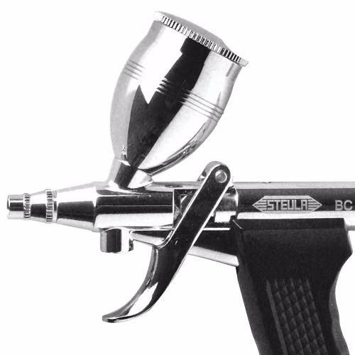 Bc66 Aerógrafo-mini-pistola Profissional Steula 0,8mm 12 Ml