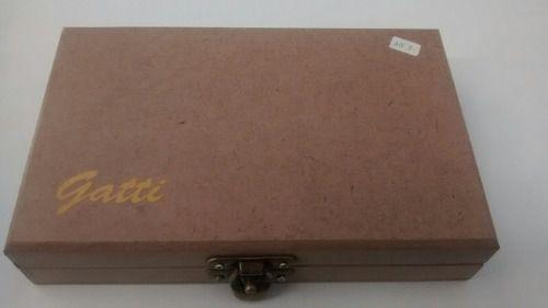 Aerógrafo Profissional Gatti Ag-2 Bico 0.2 Dupla Ação 3ml