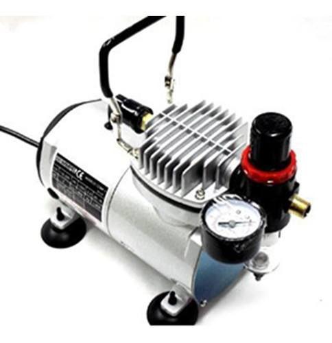 Compressor Para Aerografia Comp1 E Aerógrafo Steula Bc61 0.3
