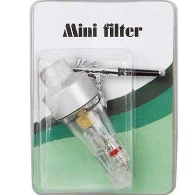 Kit Aerografia Completo Comp-1+ Aerógrafo 0.5 + Mini Filtro