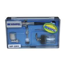 Aerógrafo Profissional Dupla Ação WIMPEL MP-1003 Bico e Agulha 0.35 mm